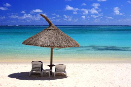 une plage de rêve en ile maurice