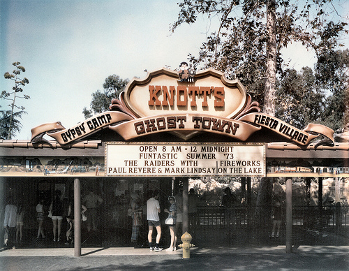 knotts berry farm Californie