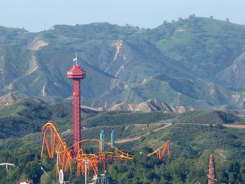 Magic Moutain Los Angeles en Californie